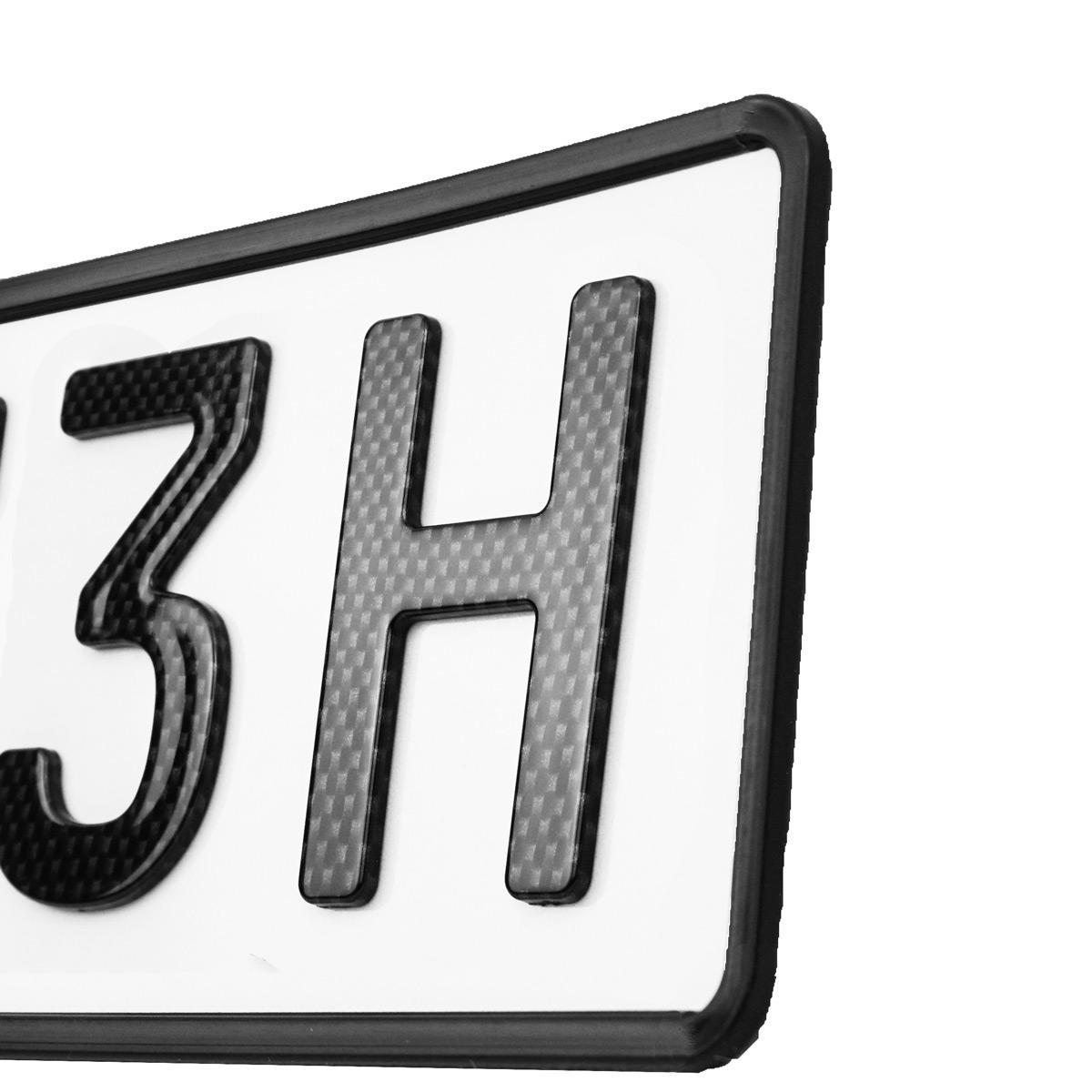 3D Classic H 520 mm Carbonoptik
