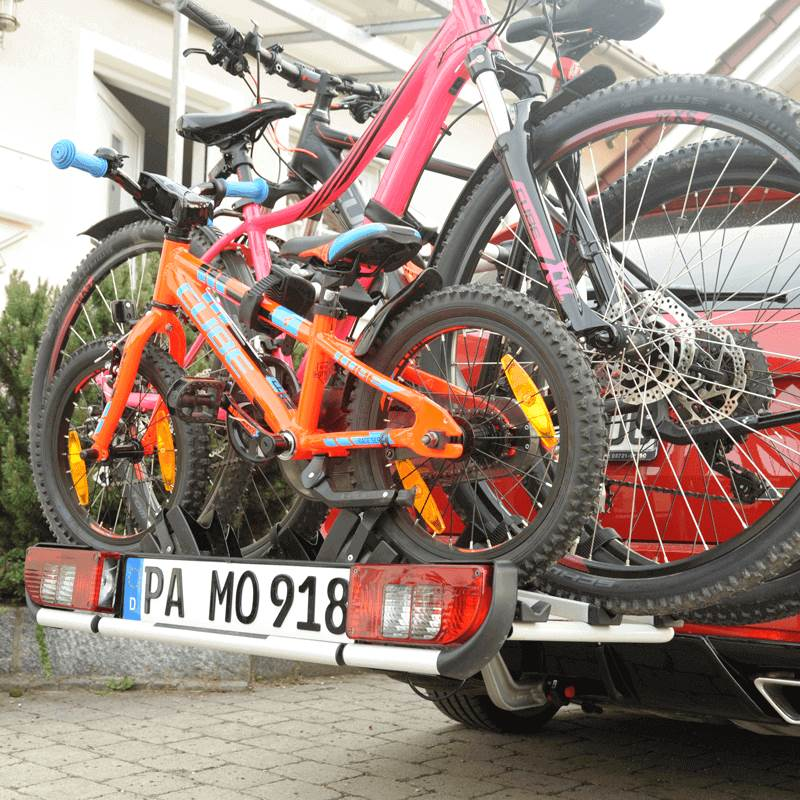 3D Fahrradträger 520 mm Black Magic