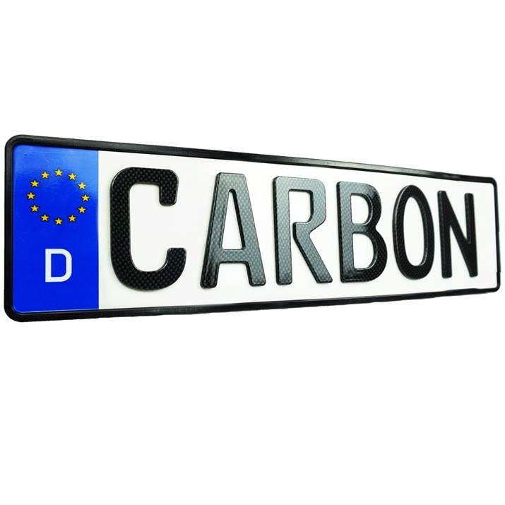 3D Sport XS Persönlich Carbonoptik