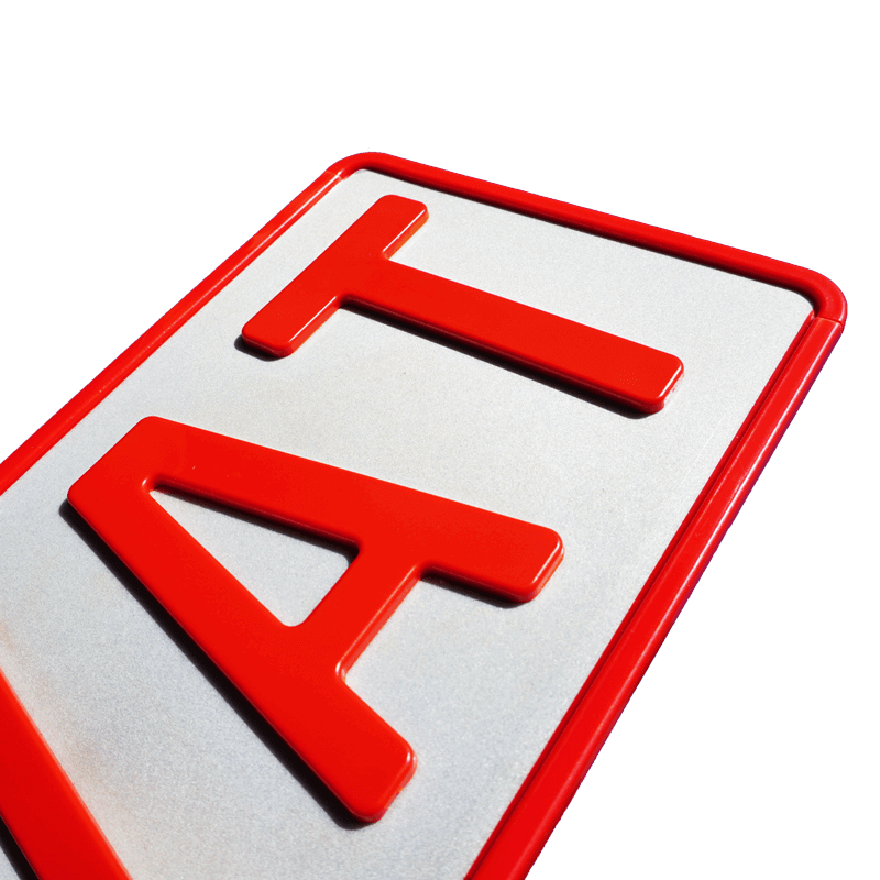 3D Sport XS Persönlich Rot