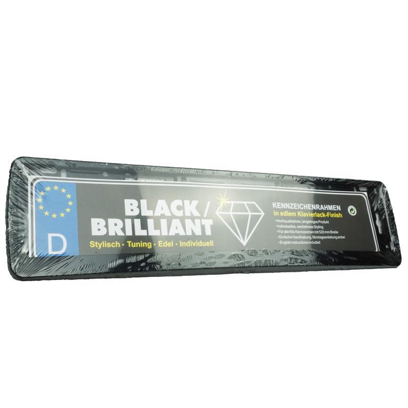 Kennzeichen-Verstärker Black Brilliant